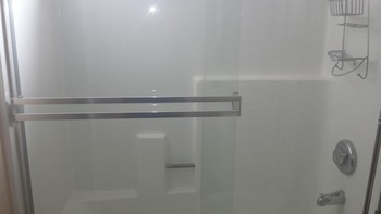 After Cleaning of a Shower Door in Rancho Cucamonga, CA